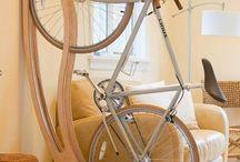 Suporte/bicicleta