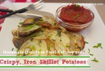 Recipes -- Scrumptious Sides / Fruit, vegetables, salads, casseroles, etc.