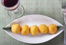 ARANCIOTTI MIGNON GIRARROSTI SANTA RITA / Arancini mignon / Mini fried rice croquettes