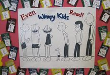 Book displays in schools and libraries