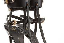 High heels bondage