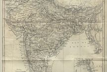Where in the world?!? / I love maps of all types- physical, political, topographic, road, or resource, old & new. I especially love them when I find them in hi-resolution on the internet. / by Sara Beth