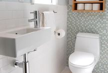 1 or 2? / A board for renovation ideas for converting one bathroom into two bathrooms!