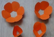 flower paper decor