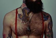 Baarden en tatoos