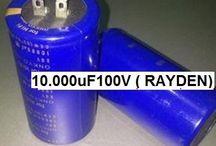 Capacitor Elco 10.000uF 100V Rayden