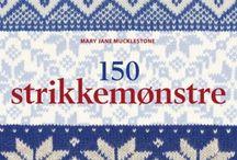 Bøker og gamle norske strikkeoppskrifter / Strikking, håndarbeid