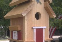 Tuin vogel huisjes