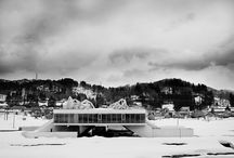 Architecture in the snow / highlights of worldwide architecture in the snow