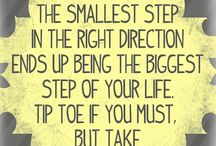 the smallest steps
