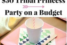 Boho Tribal Party Ideas
