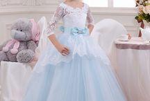 çocuk düğün elbisesi