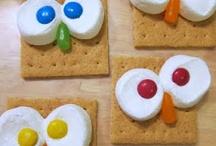 snacks for kids / by Kathryn Strine