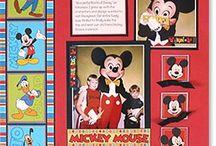 Disney scrapbook / by Frances Elliott