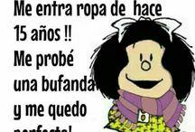 Mafalda y yo.