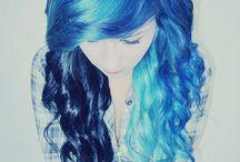 Look para mi cabello :'3