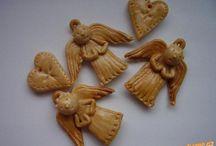 slané pečivo a keramika