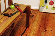 Wood Flooring: Legacy Heart Pine Character- Antique Legacy Heart Pine