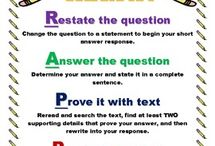 Posters / These are reference posters for students to use for language arts and math
