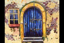 Acryl deur