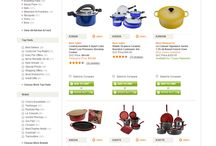 E-commerce: cookware