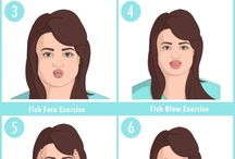 Reduce Chubby face exercise