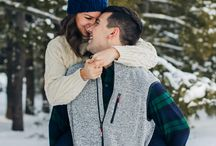 Poze iarna cuplu