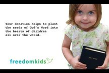 Freedom Kids Commercials / Freedom Kids Promotional videos.  Please consider donating so we can continue to reach the world with the Truth of God's Word!