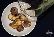 Гречневая лапша с грибами и королевскими креветками / Подробная инструкция приготовления гречневой лапши с грибами и королевскими креветками за 20 минут.
