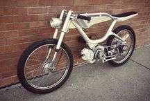 cafe motoscooter