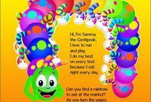 Sammy the Centipede Books / Children's books on health and wellness.