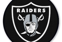 Oakland Raiders / Have been a fan since 1960 day one, and will be till my death, / by Rt Bannister