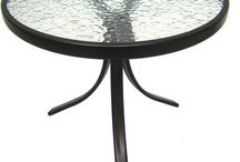 Glass Topped Tables