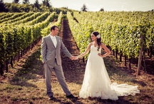 Get Hitched in Wine Country / Chehalem Ridge B&B doesn't host weddings, but there are fabulous Oregon Wine Country Wedding locales; find the right one for your special day. / by Chehalem Ridge B&B