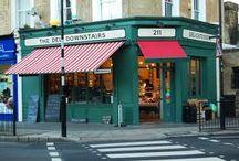 Butcher's shops, bakeries and delicatesen
