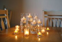 Table centrepieces and deco
