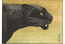 Yoshida Toshi - Woodblock Print / Incredible woodblock collection by Yoshida Toshi (Sinhanga)