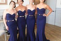 Royal brides and maids