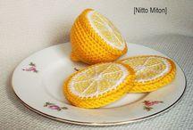 háčkované ovocie
