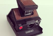 Polaroid SX-70 / Check out our cameras at instantclick.co  Polaroid SX-70 Model 3 Black & Brown   Light wear.   The SX-70 is a folding single lens reflex Land Camera first produced by the Polaroid Corporation in 1972. It was the first instant SLR in history, and the first camera to use Polaroid's new integral print film, which developed automatically without the need for intervention from the photographer. This was revolutionary at the time, and a precursor to today's 600 and Spectra films.