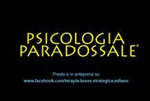 Psicologia Paradossale / La Psicologia Paradossale è un termine che ho coniato per intendere tutte quegli interventi volti ad agire su un problema secondo una logica non ordinaria. Scoprila anche su http://www.davidealgeri.com/psicologia-pratica/psicologia-paradossale/