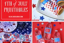 *^* 4th of July *^* / 4th of July food, activities, party ideas, crafts, DIY and home decor projects with American flag and patriotic themes.