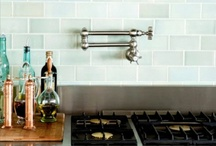 Kitchen Back Splashes / by Poppy Seed Projects {Poppy Seed Projects.com}