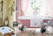 Idées déco pour la salle de bain / Le plein d'idées pour décorer votre salle de bain! Laissez-vous inspirer...