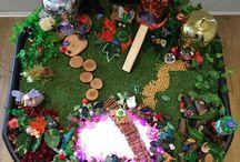 Nursery elves and fairies