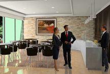 cafeteria Suites hoteleras en Valle