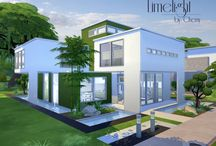 Sims 4 - Houses