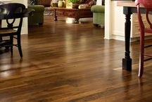 Walnut Flooring / There is so much to love about Wide Plank Walnut flooring from Carlisle Wide Plank Floors - smooth grain, sumptuous color and stunning aesthetics for rustic, modern or eclectic decors.