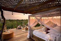 Casas en árboles / #Cabañas de #madera en los árboles. Dormir en los árboles ofrece una experiencia completa y respetuosa con la #naturaleza.