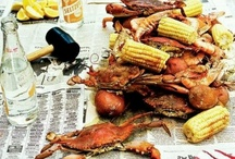 Maryland Crab Feast / Whether it's for the Preakness or just a backyard crab feast - Maryland crabs are always a time to enjoy and have fun!